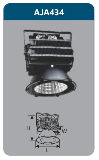 Đèn pha led 400w AJA434