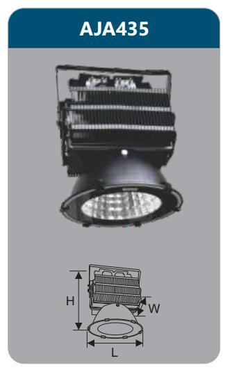 Đèn pha led 500w AJA435