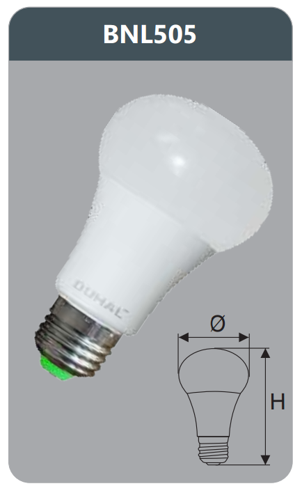 Bóng led bulb 5w BNL505