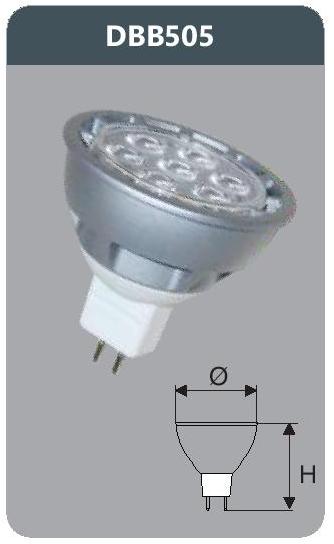 Bóng led bulb 5w DBB505