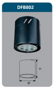 Đèn led gắn nổi chiếu sâu 7w DFB802
