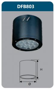 Đèn led gắn nổi chiếu sâu 12w DFB803