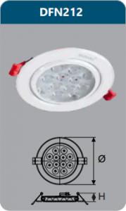 Đèn âm trần led chiếu điểm 12w DFN212