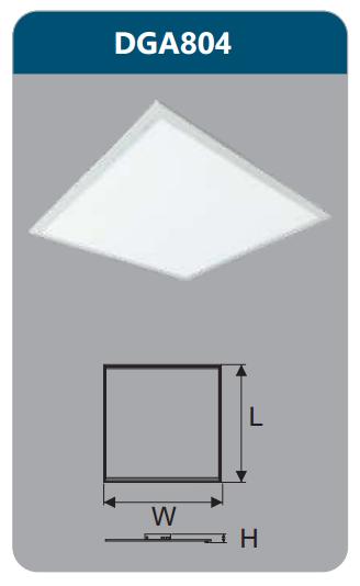 Đèn led panel bảng cao cấp 40w DGA804