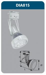 Đèn led chiếu điểm thanh ray 7w DIA815