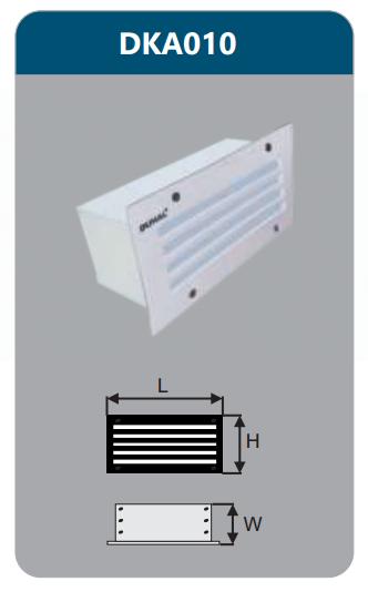 Đèn led âm tường 5w DKA010