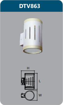 Đèn led chiếu vách 6w DTV863