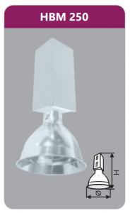 Đèn công nghiệp 250w  HBM250