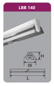Đèn công nghiệp phản quang 1x18w LBB140