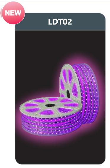 Đèn led dây cao áp ánh sáng tím LDT02