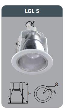 Đèn led downlight âm trần 9w LGL5