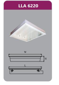 Máng đèn tán quang gắn nổi 2x9w LLN6220