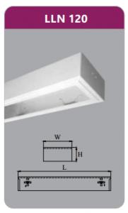 Máng đèn tán quang gắn nổi 1x9w LLN120