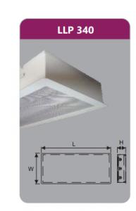 Máng đèn tán quang âm trần 3x18w LLP340
