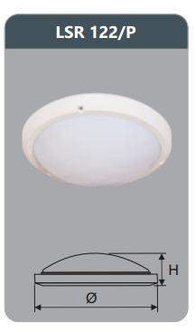 Đèn ốp trần cao cấp 22w LSR122/P