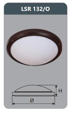 Đèn ốp trần cao cấp 32w LSR132/O