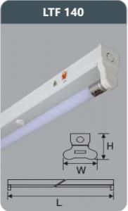 Đèn huỳnh quang siêu mỏng 18w LTF140