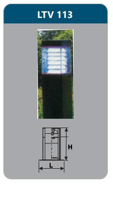 Đèn sân vườn 12w LTV113