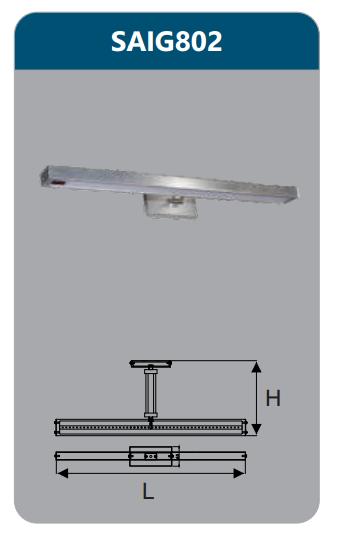 Đèn led soi gương 9w SAIG802