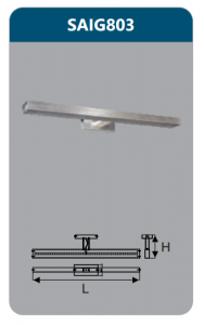 Đèn led soi gương 9w SAIG803