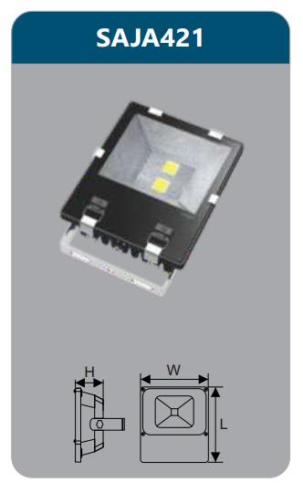 Đèn pha led 100w SAJA421