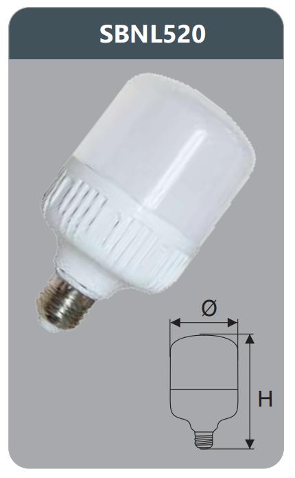 Bóng led công suất cao 20w SBNL520