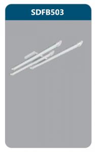 Đèn ốp trần led 3x9w SDFB503