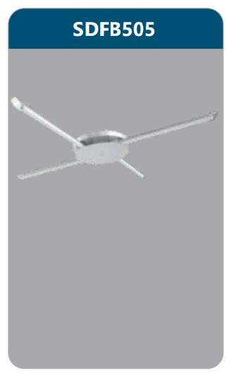 Đèn ốp trần led 4x9w SDFB505