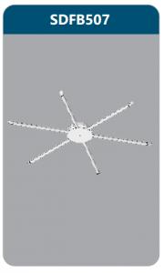 Đèn ốp trần led 6x9w SDFB507