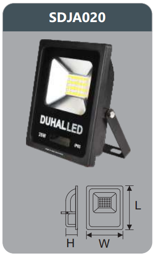 Đèn pha led 20w SDJA020