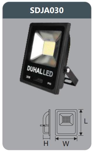 Đèn pha led 30w SDJA030