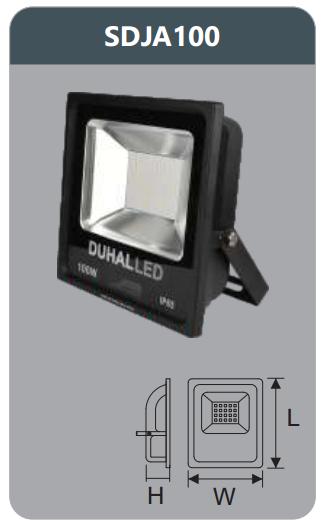 Đèn pha led 100w SDJA100