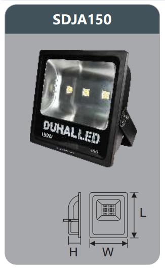 Đèn pha led 150w SDJA150