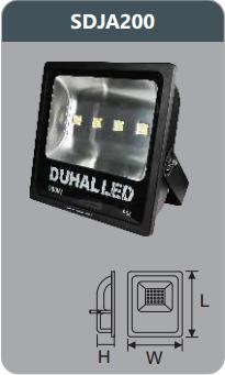Đèn pha led 200w SDJA200