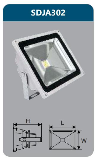 Đèn pha led 20w SDJA302