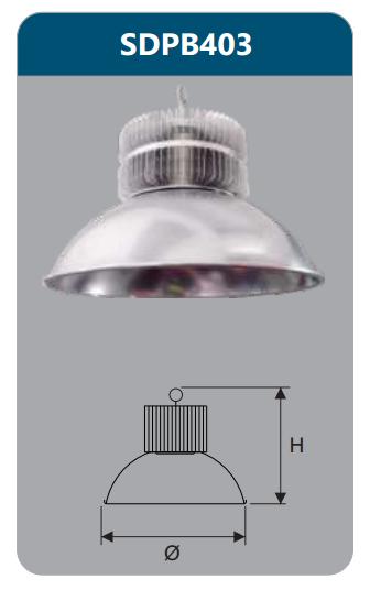 Đèn công nghiệp 100w SDPB403