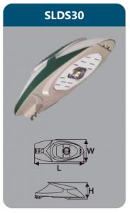 Đèn đường led 30w SLDS30