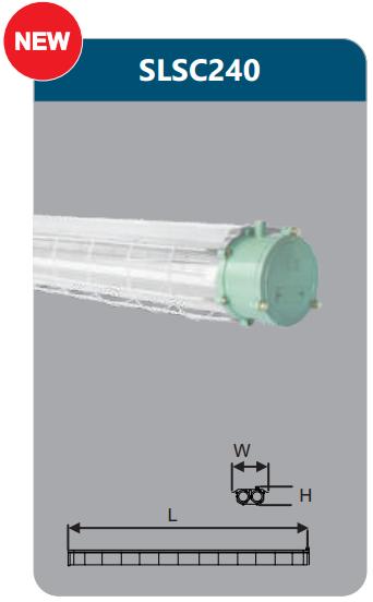 Đèn chống nổ 2x18w SLSC240
