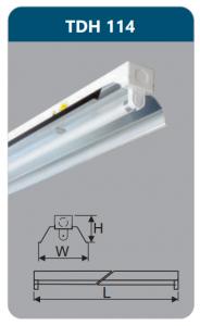 Đèn công nghiệp phản quang 1x14w TDH114