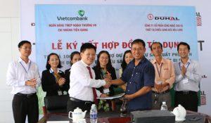 Vietcombank dành hạn mức tín dụng 100 tỷ đồng cho Duhal