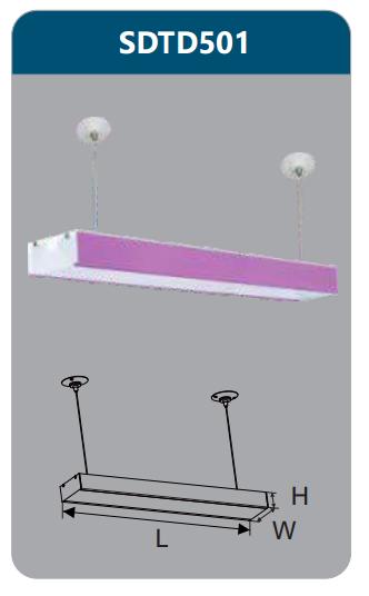Đèn led treo thả phòng họp 9w SDTD501