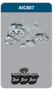 Đèn led chiếu điểm thanh ray6x12w AIC807