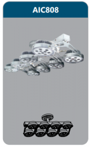 Đèn led chiếu điểm thanh ray8x12w AIC808