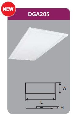 Đèn led panel bảng cao cấp 64w DGA205