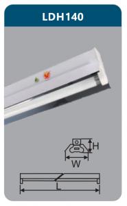 Đèn công nghiệp phản quang 1x18w LDH140