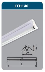 Đèn công nghiệp sơn tĩnh điện1x18w LTH140