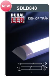 Đèn ốp trần led chụp mica 40w SDLD840