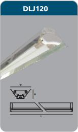 Đèn công nghiệp phản quang 1x9w DLJ120