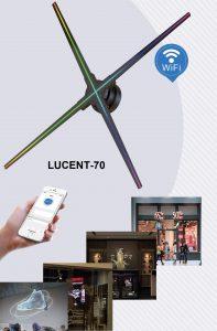 Màn hình LED 3D hologram Lucent-70