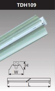 Đèn công nghiệp phản quang 1x9w TDH109